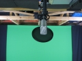 Ceiling mounted Rode NT1-A mic